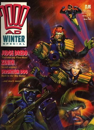 Cover for 2000 AD Winter Special (Fleetway Publications, 1988 series) #1988