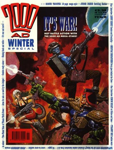 Cover for 2000 AD Winter Special (Fleetway Publications, 1988 series) #1989