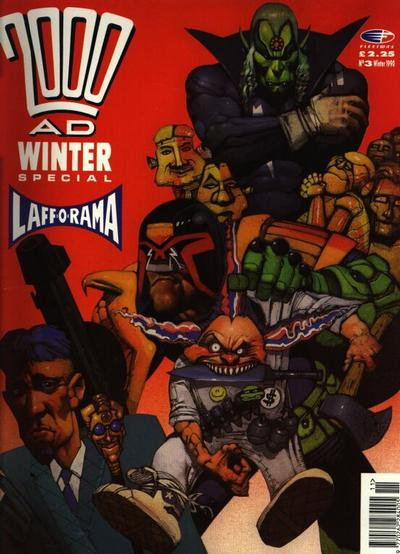 Cover for 2000 AD Winter Special (Fleetway Publications, 1988 series) #1990