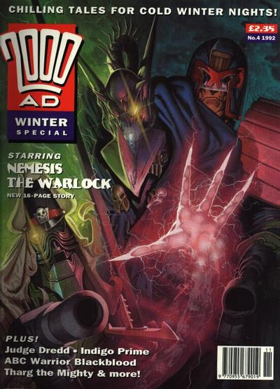 Cover for 2000 AD Winter Special (Fleetway Publications, 1988 series) #1992