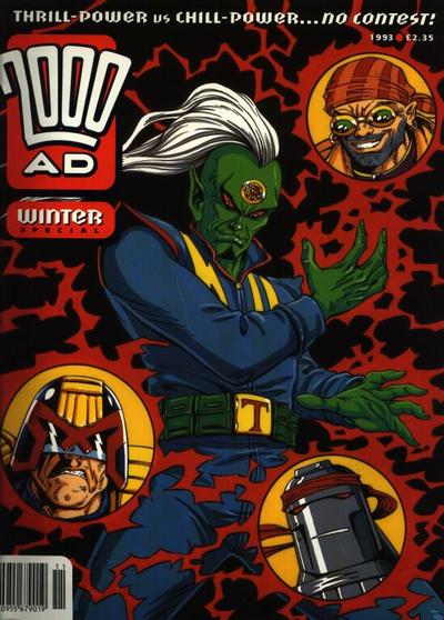 Cover for 2000 AD Winter Special (Fleetway Publications, 1988 series) #1993