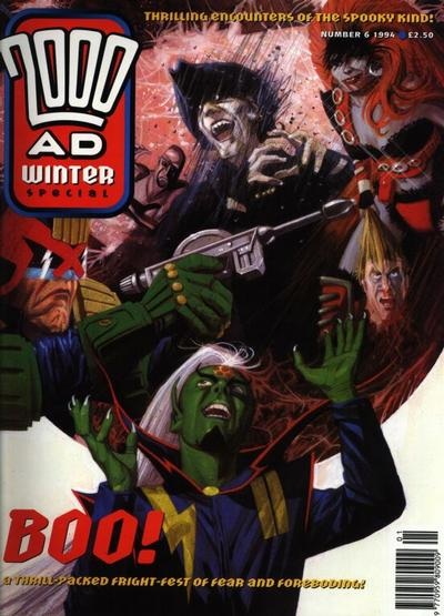 Cover for 2000 AD Winter Special (Fleetway Publications, 1988 series) #1994