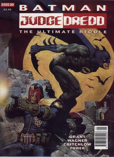 Cover for Batman / Judge Dredd: The Ultimate Riddle (Fleetway Publications, 1995 series)