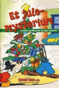 Cover Thumbnail for Bilag til Donald Duck & Co (Hjemmet / Egmont, 1997 series) #julen 2001