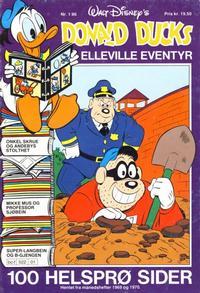Cover Thumbnail for Donald Ducks Elleville Eventyr (Hjemmet / Egmont, 1986 series) #1