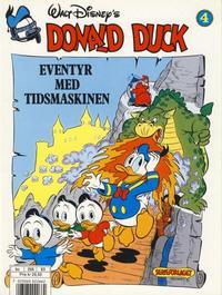 Cover for Donald Duck Eventyr med tidsmaskinen (Hjemmet / Egmont, 1987 series) #4