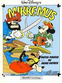 Cover Thumbnail for Mikke Mus Album (Hjemmet / Egmont, 1987 series) #[nn] - Mikke Mus møter pirater og andre uhyrer