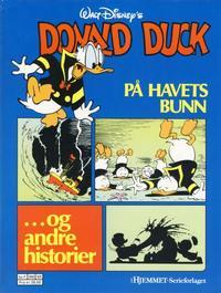 Cover Thumbnail for Donald Duck album (Hjemmet / Egmont, 1985 series) #[4] - På havets bunn