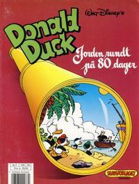 Cover Thumbnail for Donald Duck album (Hjemmet / Egmont, 1985 series) #[6] - Jorden rundt på 80 dager