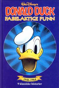 Cover Thumbnail for Donald Duck bøker [Gullbøker] (Hjemmet / Egmont, 1984 series) #[1996] - Fabelaktige funn