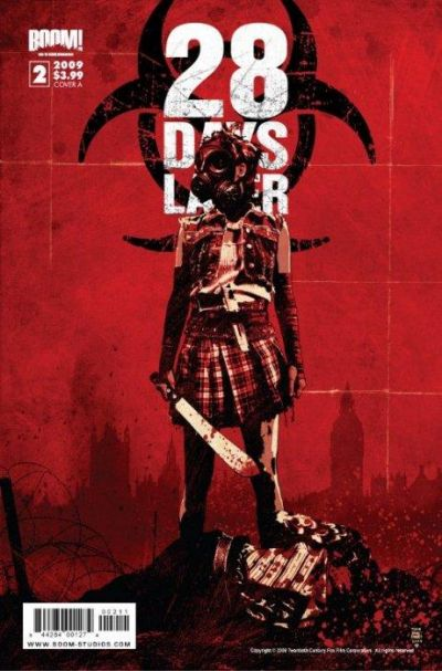 Cover for 28 Days Later (Boom! Studios, 2009 series) #2 [Cover C]