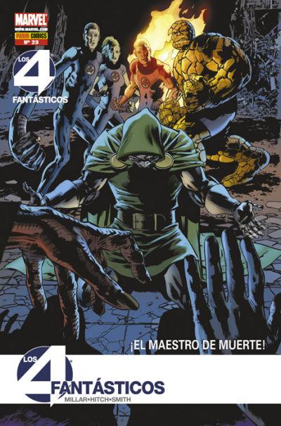 Cover for Los 4 Fantásticos (Panini España, 2008 series) #23