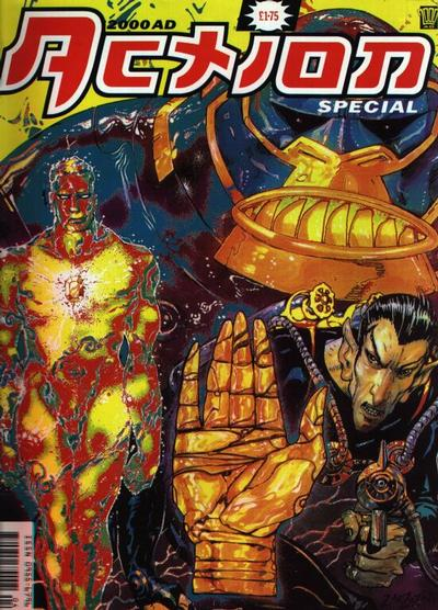 Cover for 2000 AD Action Special (Fleetway Publications, 1992 series)