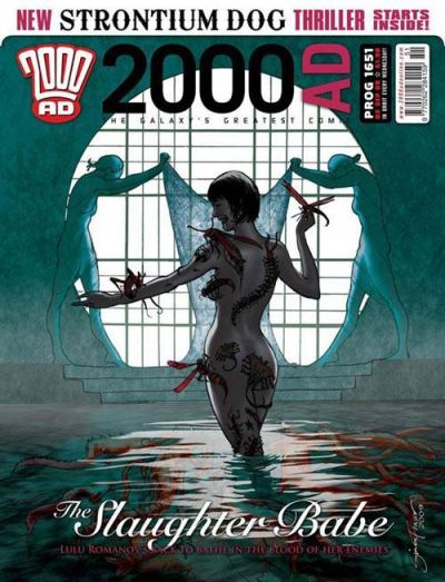 Cover for 2000 AD (Rebellion, 2001 series) #1651