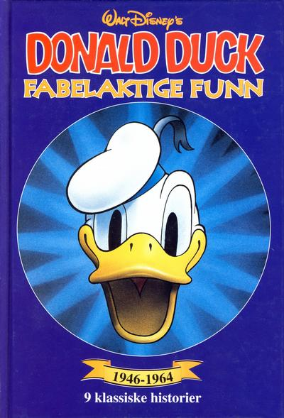 Cover for Donald Duck bøker [Gullbøker] (Hjemmet / Egmont, 1984 series) #[1996] - Fabelaktige funn