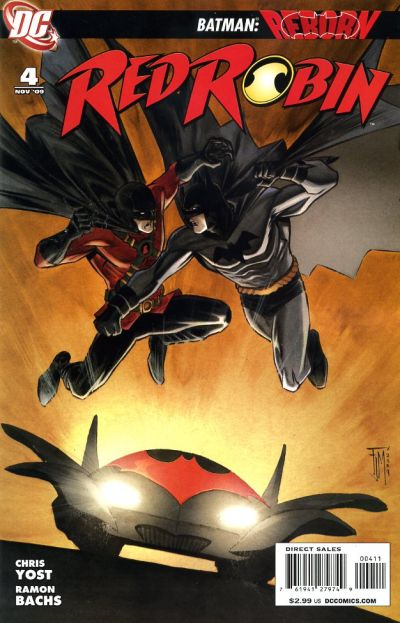 Cover for Red Robin (DC, 2009 series) #4