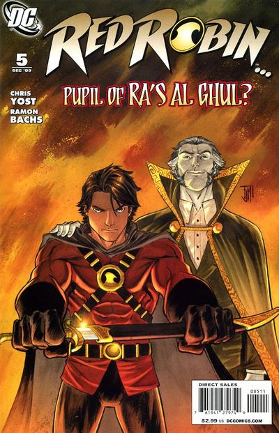 Cover for Red Robin (DC, 2009 series) #5