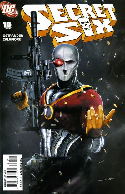 Cover for Secret Six (DC, 2008 series) #15