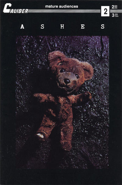 Cover for Ashes (Caliber Press, 1990 series) #2