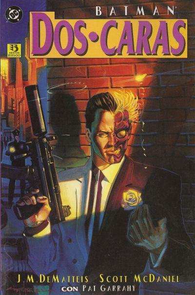 Cover for Batman/Dos caras: Crimen y castigo (Zinco, 1995 series)