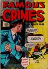 Cover for Famous Crimes (Fox, 1948 series) #12