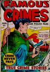 Cover for Famous Crimes (Fox, 1948 series) #16