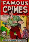 Cover for Famous Crimes (Fox, 1948 series) #18