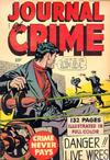 Cover for Journal of Crime (Fox, 1949 series) #[nn]