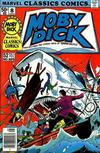 Cover for Marvel Classics Comics (Marvel, 1976 series) #8 - Moby Dick