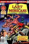 Cover for Marvel Classics Comics (Marvel, 1976 series) #13 - The Last of the Mohicans