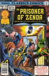 Cover for Marvel Classics Comics (Marvel, 1976 series) #29 - The Prisoner of Zenda