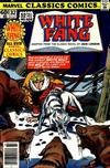 Cover for Marvel Classics Comics (Marvel, 1976 series) #32 - White Fang