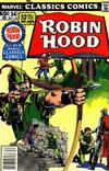 Cover for Marvel Classics Comics (Marvel, 1976 series) #34 - Robin Hood