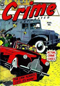 Cover Thumbnail for Crime Incorporated (Fox, 1950 series) #3