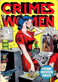 Cover Thumbnail for Crimes by Women (Fox, 1948 series) #9
