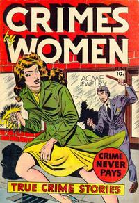 Cover Thumbnail for Crimes by Women (Fox, 1948 series) #13