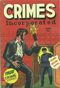 Cover Thumbnail for Crimes Incorporated (Fox, 1950 series) #12 [1]