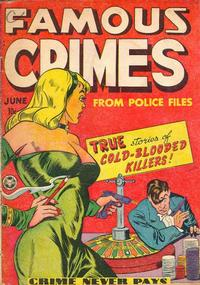 Cover Thumbnail for Famous Crimes (Fox, 1948 series) #1