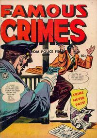 Cover Thumbnail for Famous Crimes (Fox, 1948 series) #7