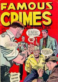 Cover Thumbnail for Famous Crimes (Fox, 1948 series) #8