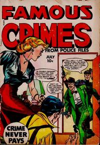 Cover Thumbnail for Famous Crimes (Fox, 1948 series) #11