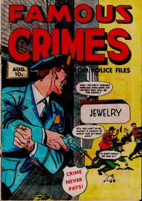 Cover Thumbnail for Famous Crimes (Fox, 1948 series) #12