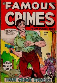 Cover Thumbnail for Famous Crimes (Fox, 1948 series) #18