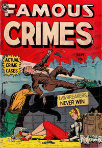 Cover Thumbnail for Famous Crimes (Fox, 1948 series) #19