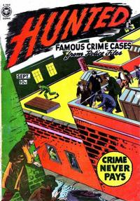 Cover Thumbnail for Hunted (Fox, 1950 series) #2