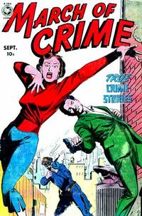 Cover Thumbnail for March of Crime (Fox, 1950 series) #3