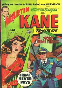 Cover Thumbnail for Martin Kane, Private Eye (Fox, 1950 series) #4 [1]