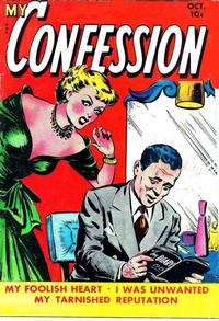 Cover Thumbnail for My Confession (Fox, 1949 series) #8