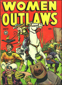 Cover for Women Outlaws (Fox, 1948 series) #3