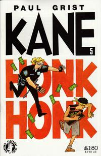 Cover Thumbnail for Kane (Dancing Elephant Press, 1993 series) #5
